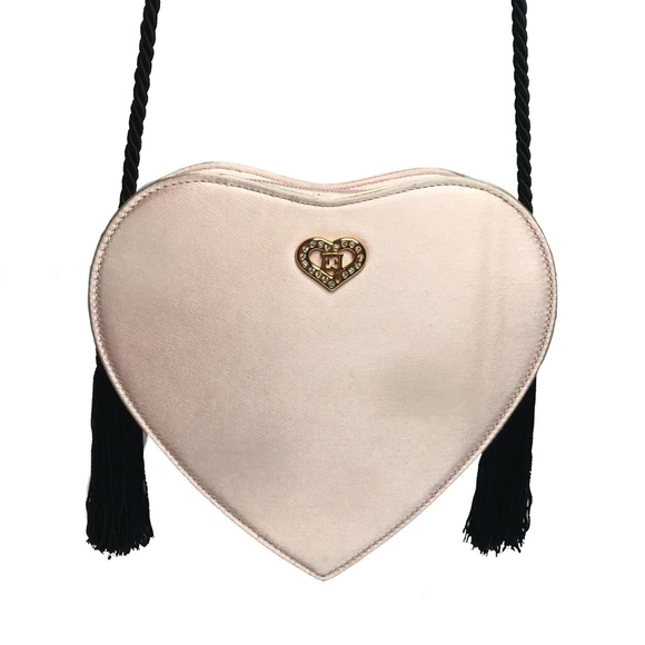 b71cccf18cfe Escada Handbags - Escada Heart Shaped Vintage Bag 90's Retro Style